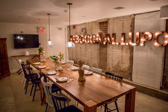 Nodo restaurant blogto toronto for Best restaurants with private dining rooms toronto