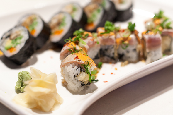 late night sushi Toronto