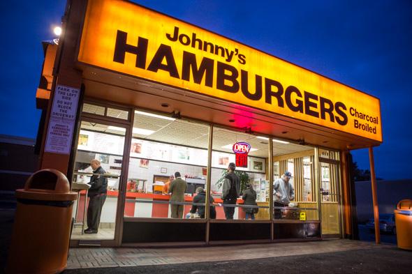 Johnnys Hamburgers Toronto