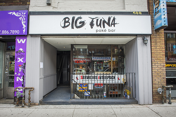 Big Tuna Poke Bar Toronto