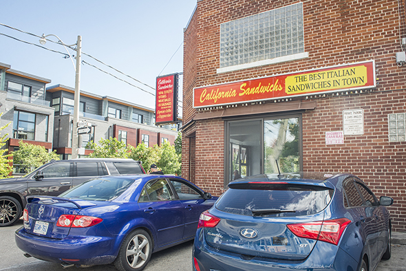 California Sandwiches Toronto