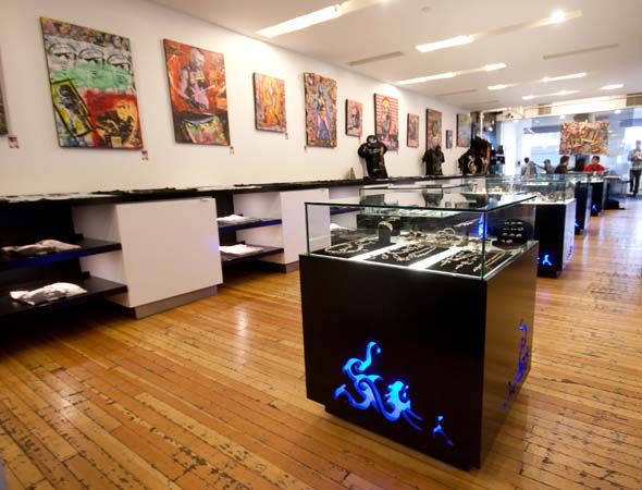 Tattoo shop layout joy studio design gallery best design for Tattoo shop design
