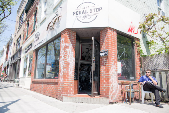 the pedal stop toronto