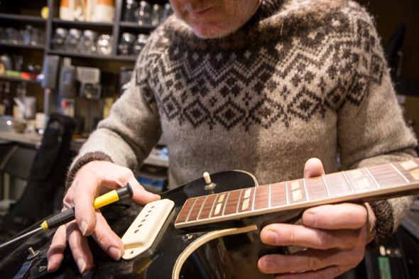 coffee guitar