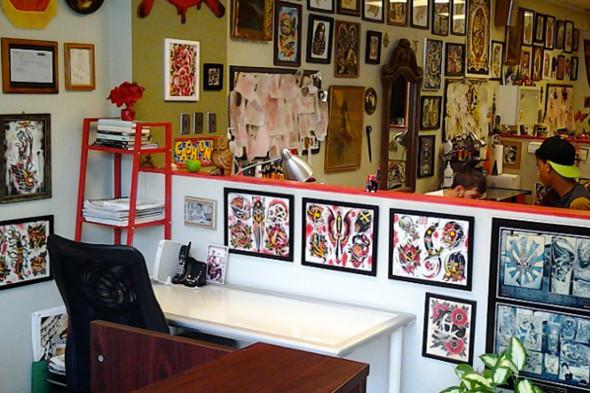 Pravda tattoo parlour for Tattoo shops etobicoke