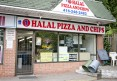 1 Halal Pizza and Chips