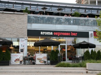 Aroma espresso bar liberty village for Aroma fine indian cuisine king street west toronto on
