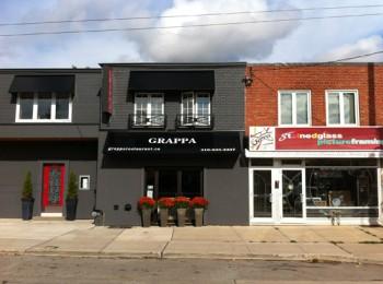 Grappa Restaurant College Street Toronto