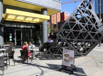 Aroma espresso bar king and spadina for Aroma fine indian cuisine king street west toronto on