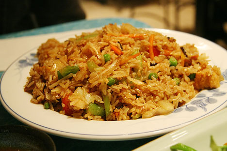 Veggie-beef Fried Rice