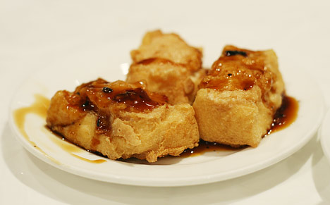 And oddly enough, another 'stuffed' choice: Stuffed Tofu . This dish ...