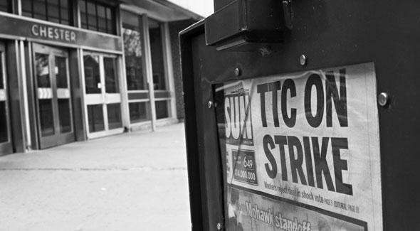 TTC strike