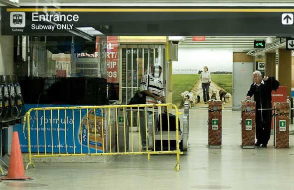 TTC Transit Strike