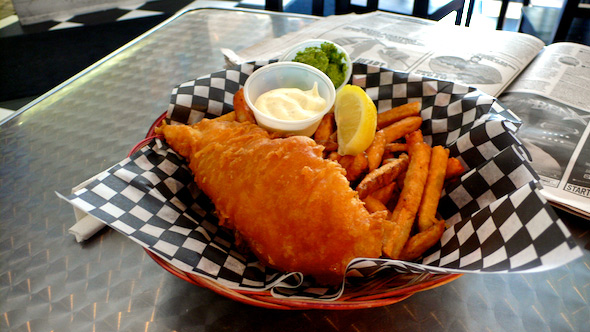 Deep Blue Fish & Chips Meal