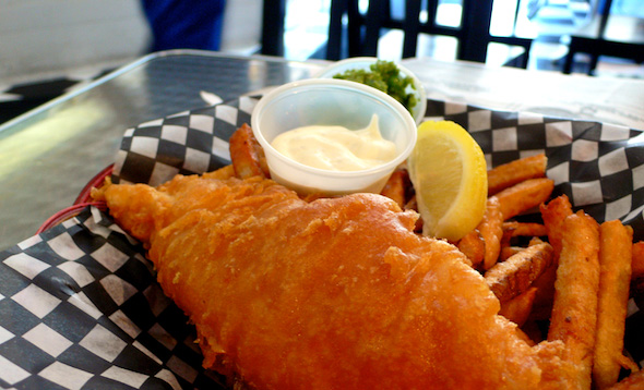 Deep Blue Fish & Chips Fries