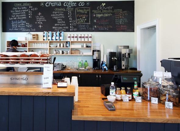 First Look Crema Coffee