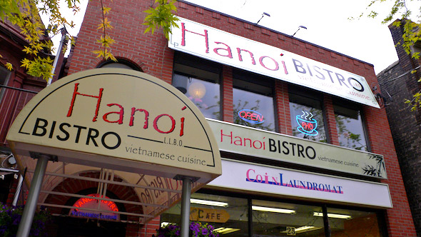 Hanoi Bistro Front