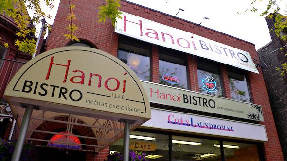 Hanoi Bistro Front