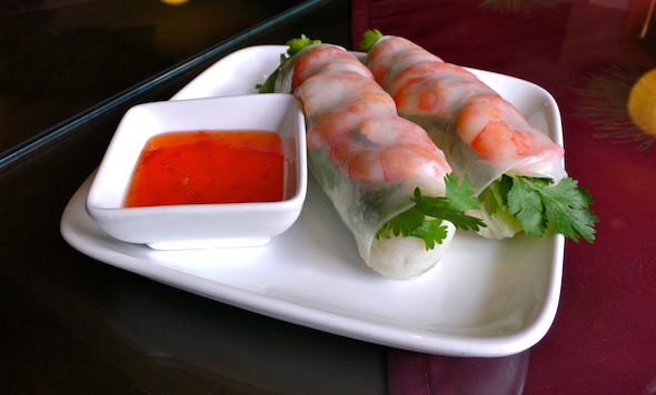 Hanoi Bistro Fresh Shrimp Rolls