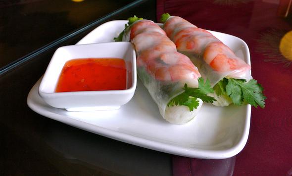 Hanoi Bistro Fresh Shrimp Rolls