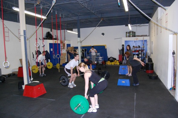 Crossfit Toronto Workout