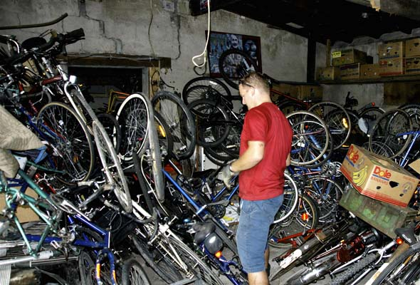 More stolen bikes are uncovered in a Parkdale garage