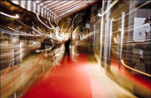 TIFF Red Carpet Blur