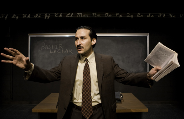 Raoul Bhaneja as Bashir Lazhar