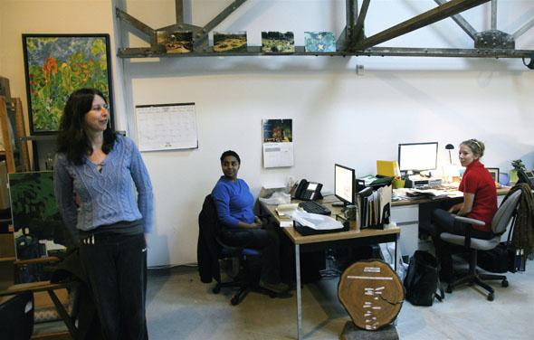 Artscape Wychwood Barns houses community groups like LEAF