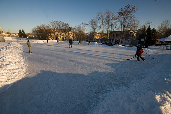 Sorauren Park Natural Hockey Rink