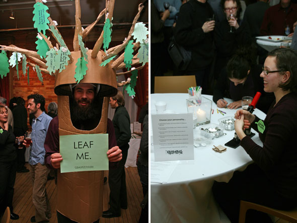 LEAF Tree Man Button Maker
