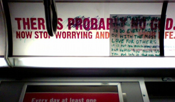 atheist ads toronto subway ttc