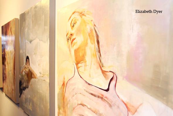 Beth Dyer <br />Paintings.