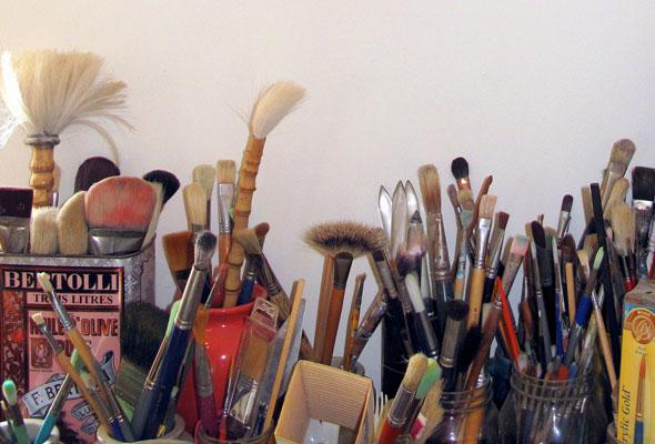 Habitats: Sarindar's paint brushes