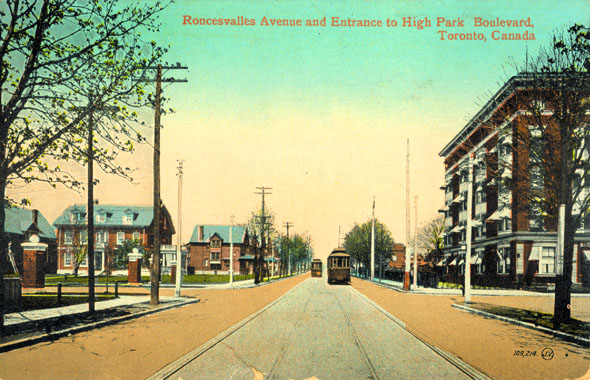 Roncesvalles and High Park