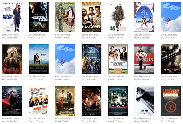 New movie listings