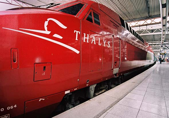 Thalys Train Brussels Main Station