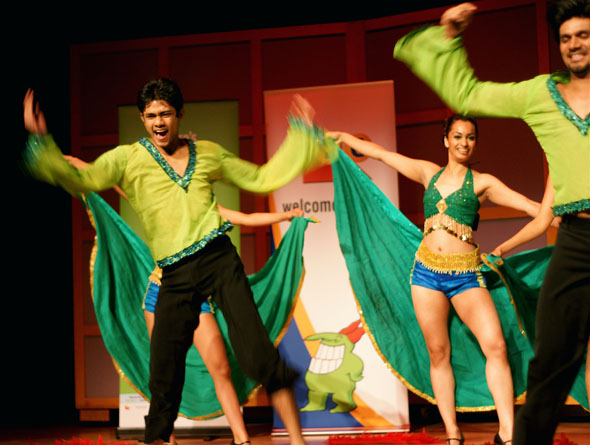 Shiamak Davar International at the Toronto Just For Laughs Festival