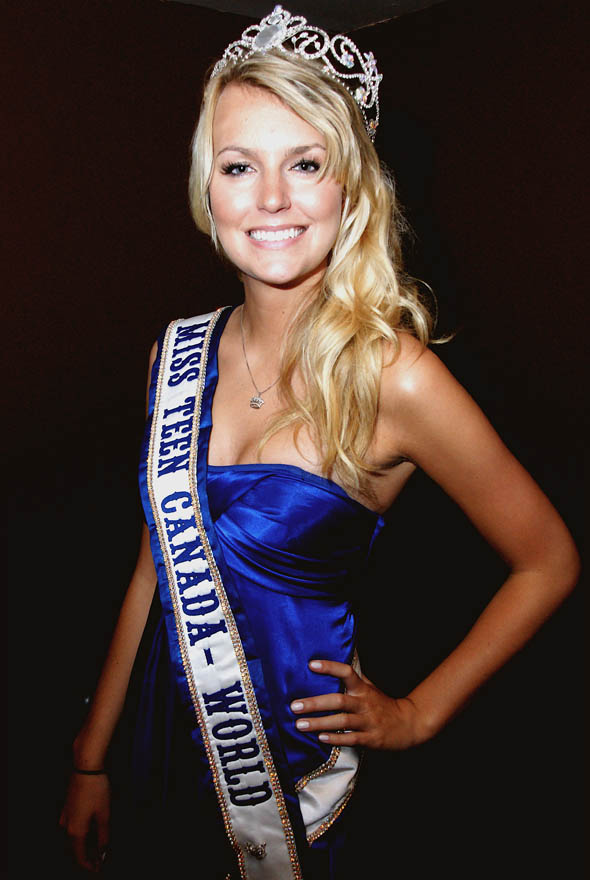 The winner of Miss Teen Canada-World will go on to represent Canada at the ...