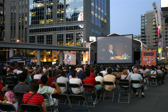 Toronto open air film screenings