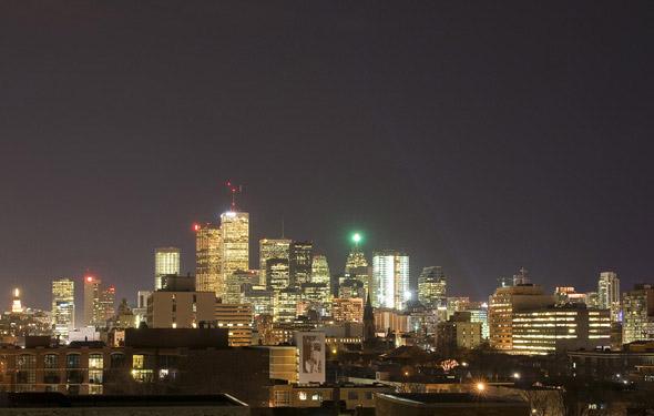 CN Tower-less Toronto