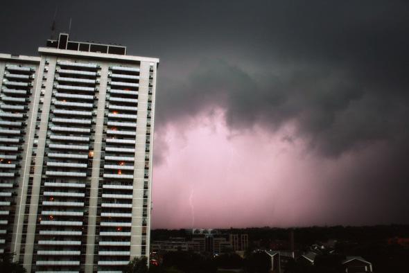 Massive Toronto Storm August 20th
