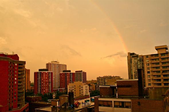 Toronto Storm Massive Rainbow