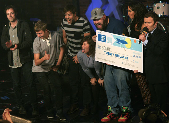 Fucked Up wins 2009 Polaris Music Prize