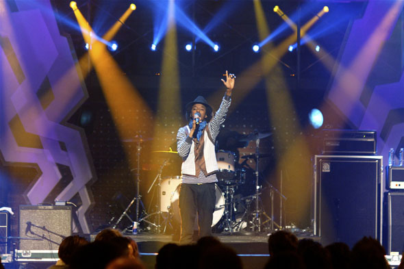 K'naan at the 2009 Polaris Prize awards