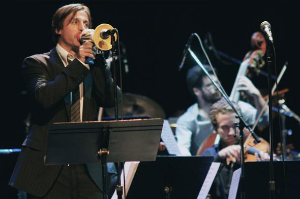 Raine Maida at Art of Time Ensemble's Abbey Road concert