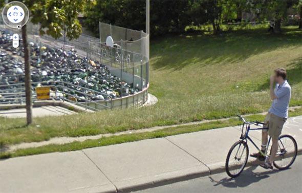 google streetview toronto
