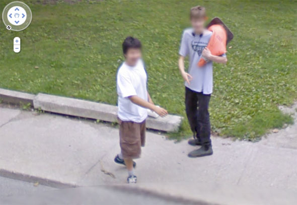 google maps funny pic. makeup Google Earth Is a Gift