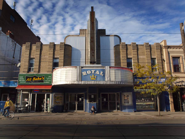 The Royal Theatre in Little Italy