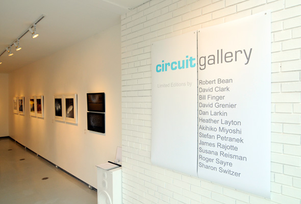 Circuit Gallery exhibition at the Department. Photo credit: Derek Flack